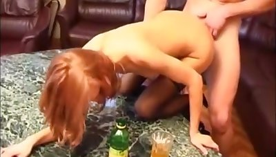 Amazing xxx video Red Head craziest uncut