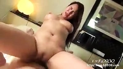 Asian ass and wet pussy toyed hardcore in close up