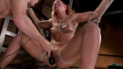 Obedient babe endures the wildest BDSM sex play ever