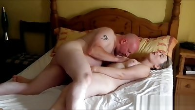 32yo British Ex-GF fucks me after a night here her new BF
