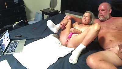 Hottie mommy Dildo's Wet Hoochie-Coochie gets Had Intercourse Doggy-Style Style two Big Squirts Cum Shot at
