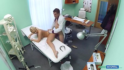 Lilith's shocking hardcore dicking at the doctor's office