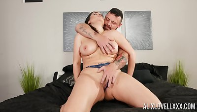 MILF gets Hawkshaw in both holes plus sperm to cover those moue