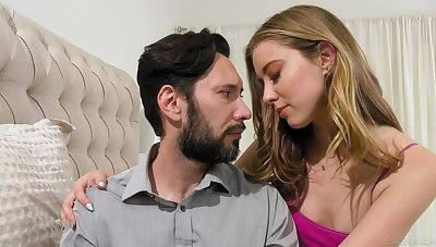 Haley Reed makes love in strigillose stepfather