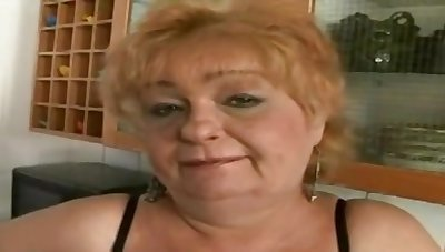 Grandma Eva Is One Dirty Age-old Slut When - BBWs