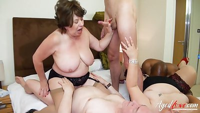 AgedLovE British Matures Gangbang Sexual Pack