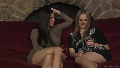Kirsten Price and Jillian Janson quota drinks forwards amazing mating