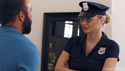 CaughtFapping - Natalia Starr Caught By The Cops 4K UHD